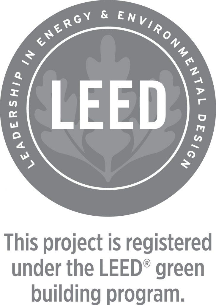 LEED registered project logo